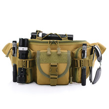 Free Knight Camping Bags Outdoor Molle Waist Pack Fanny Packs Hip Belt Bag Pouch for Hiking Climbing Bumbag(China)