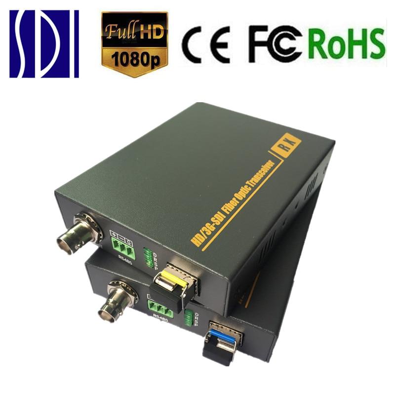 ZY STF501 10km HD SDI Fiber Optic Extender Media Converter 3G SDI Fiber Video Transmitter font