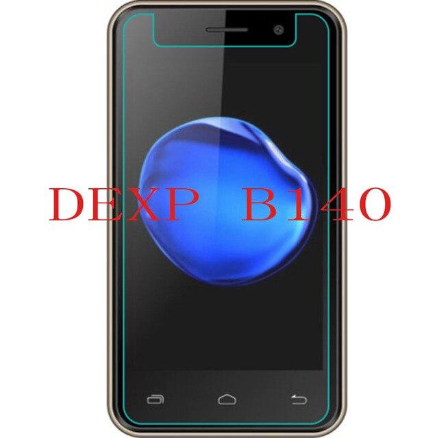 2 piezas nuevo Protector de pantalla para teléfono DEXP B140 Protector de pantalla de vidrio templado para teléfono inteligente