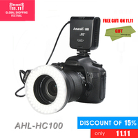 Aputure Amaran HC100 LED Macro Ringflash Light Led Ring Light For Canon EOS 5D Mark II