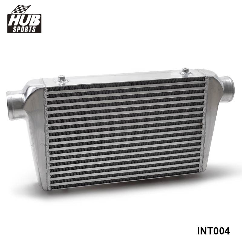 BAR & PLATE Aluminum Front Mount Intercooler 450x300x76 mm 3'' (76mm) I/O Turbo Inter Cooler HU-INT004 pivot 450x300x76 alloy turbo front mount intcooler bar