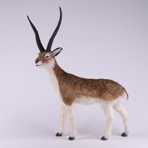big simualtion antelope model plastic& furs antelope toy home decoration gift 57x40cm a100 кашпо gift n home сирень