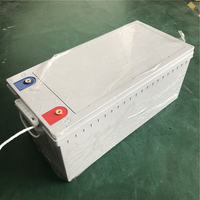 Deep Cycle Power Lifepo4 12V 300ah Lithium Ion Battery Packs For RV/Solar System/Yacht/Golf Carts Storage/Car