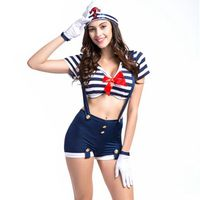 Sexy femme marin halloween costumes disfraces adultos cosplay magasin plus la taille cosplay costumes robes de soirée carnaval costume