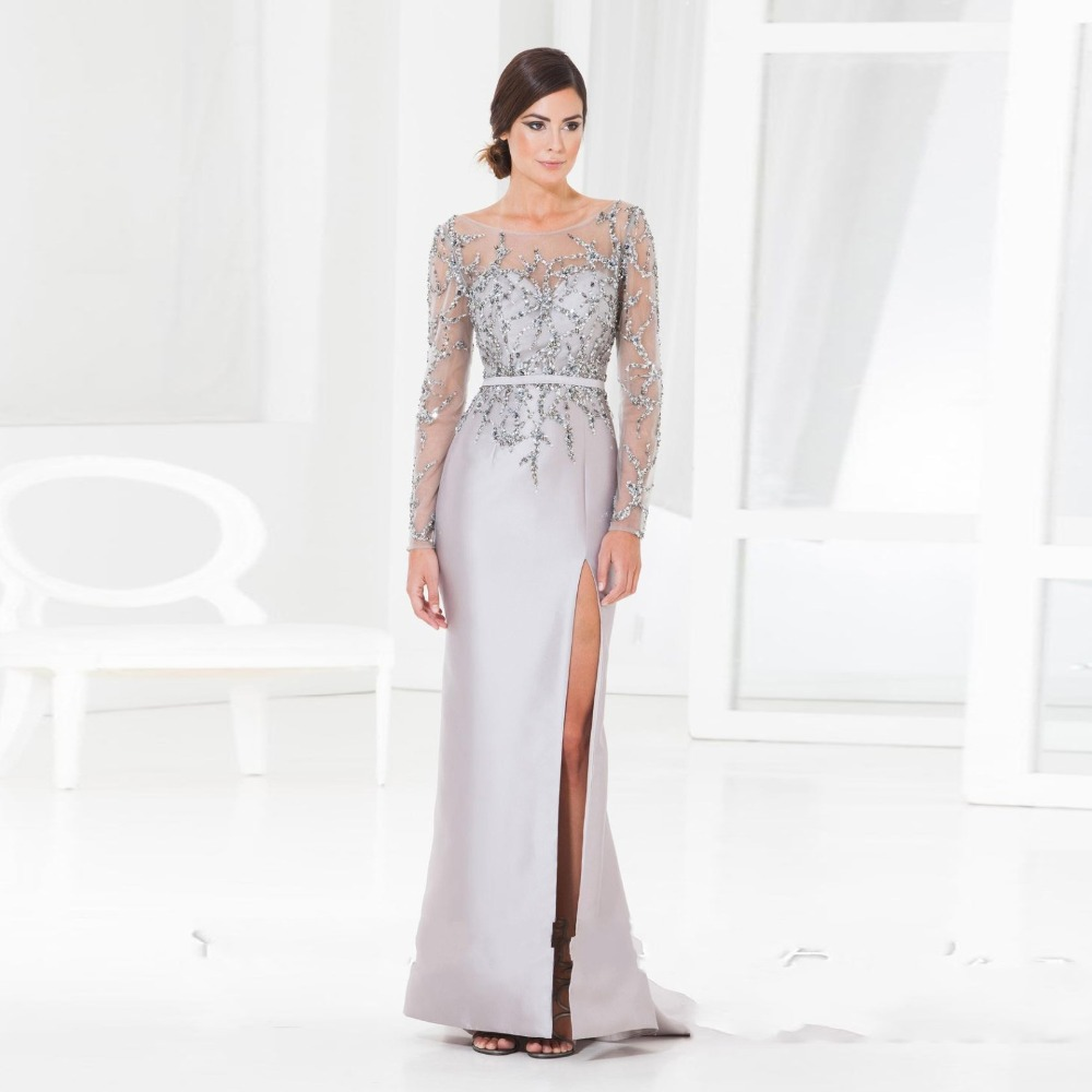 Popular Silver Formal Dress-Buy Cheap Silver Formal Dress lots ...