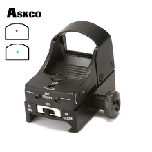 Askco Red and Green Dot Sight Scope Tactical Mini Weapon Gun Sight Holographic R