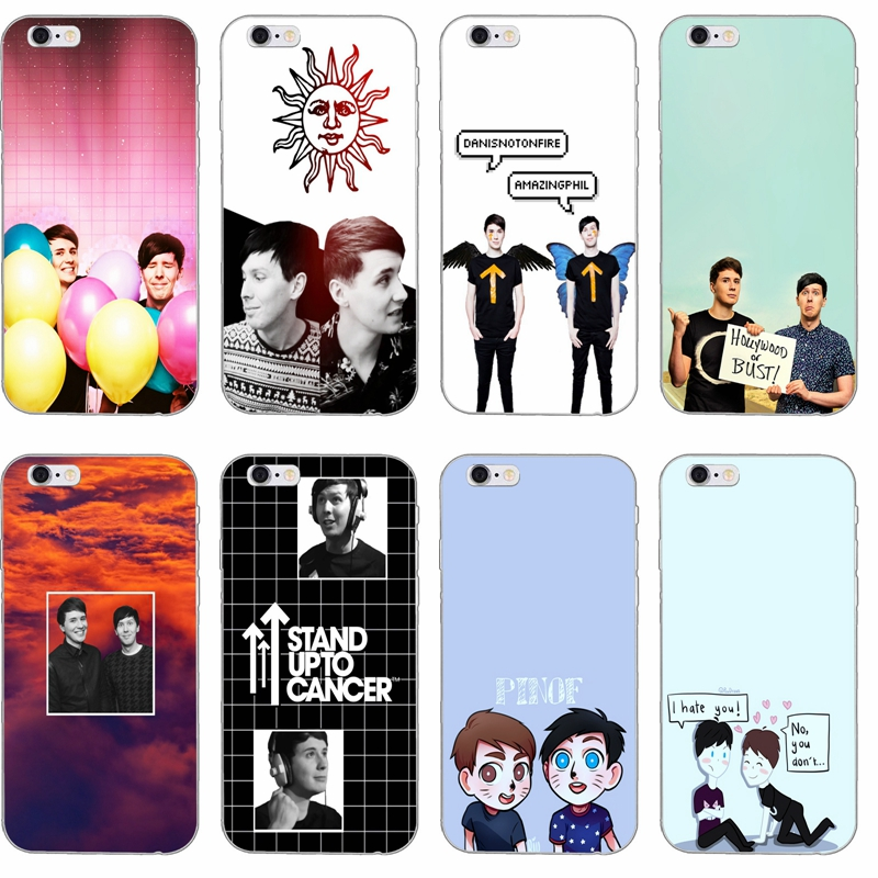 Us 1 99 Dan And Phil Silicone Tpu Soft Phone Case For Samsung Galaxy J1 J2 J3 J5 J7 A3 A5 A7 2015 2016 2017 In Half Wrapped Cases From Cellphones