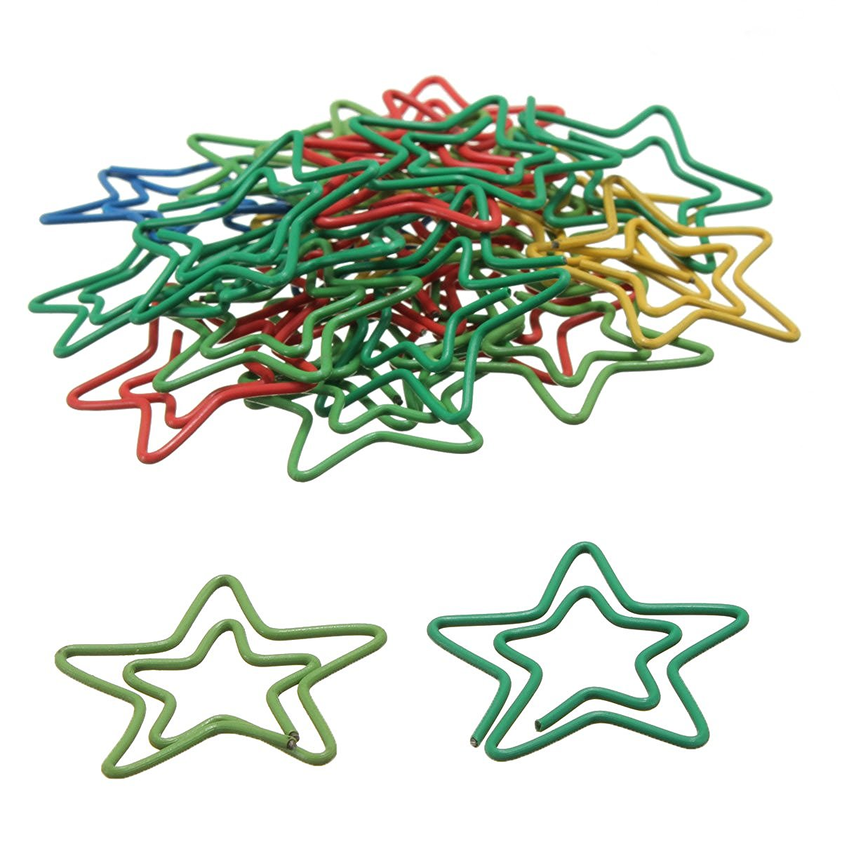 Glorieus Paperclips 24 Stuks In Pvc Case Star