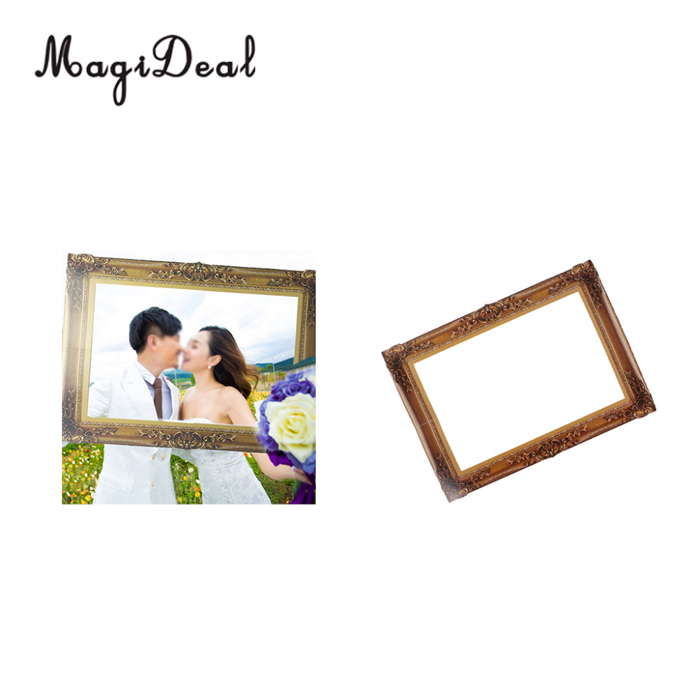MagiDeal Vintage Frame Booth Prop Background for