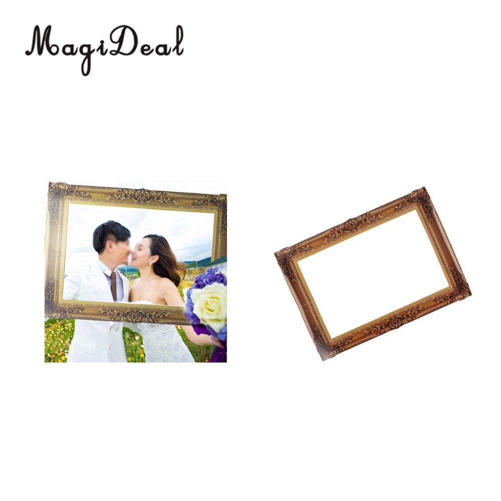 MagiDeal Vintage Rahmen Photo Booth Prop Hintergrund für Hochzeit ...