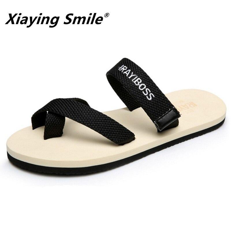 Unisex flip flops para casal sansals homens sapatos nova moda verão sapatos baixos calçado não-slip macio e confortável leve
