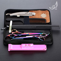 PARADE L 6 Inch Cutting Thinning Styling Tool Hair Scissors Stainless Steel Salon Hairdressing Shears Regular