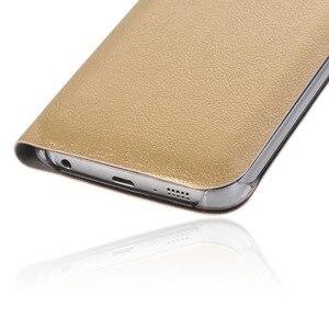 Image 2 - Virar Caso Capa De Couro Para Samsung Galaxy A7 2018 A750FD Wallet Phone Case Capa Com Suporte de Cartão de Crédito Para GalaxyA7 2018