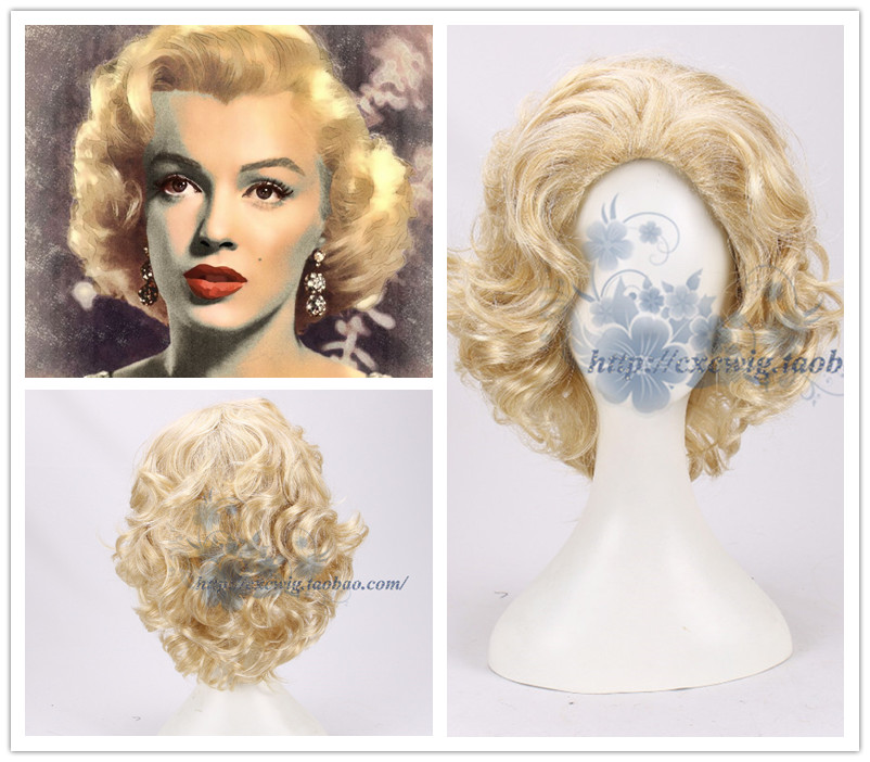 € 16.77 5% de réduction|Marilyn Monroe perruque
