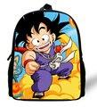 12-inch Mini Kids School Backpack Dragon Ball Bag Sun Wukong Print Cartoon Children School Bags Boys Mochila Escolar Infantil