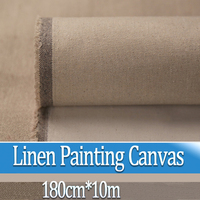 180 см * 10 м линиями краска ing холст масляная краска ing пейзаж краска ing бумага для печати художника пустая холст принадлежности для рисования