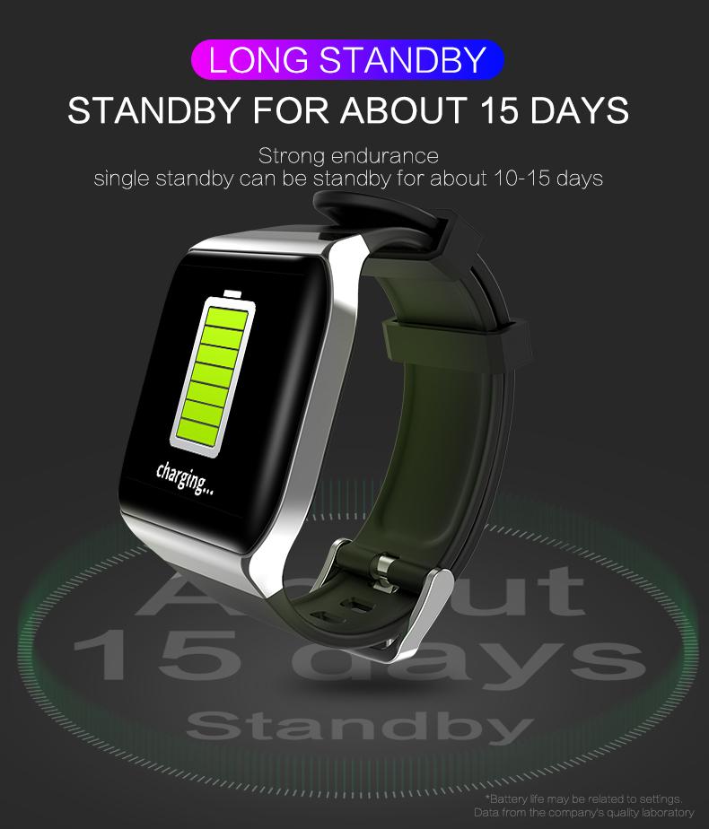 KSUN KS58 pulsera inteligente banda con Monitor de ritmo cardíaco 9