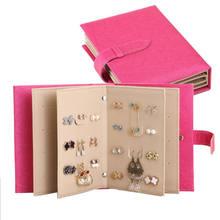 Creative Jewelry Box Storage Organizer Case Earring Necklace Holder Book Uk China