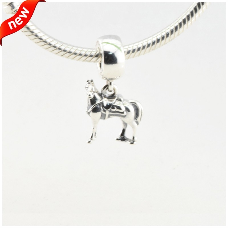 Disny Maximus Beads Fits Pandora Charms Bracelet Animal Horse Beads Original 925 Sterling Silver Jewerly 2016 Spring Collection  (3)
