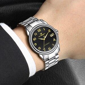 Image 5 - ผู้ชายนาฬิกา 2020 แฟชั่นนาฬิกาข้อมืออัตโนมัติชายนาฬิกา Hodinky Erkek Kol Saati นาฬิกาผู้ชาย