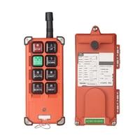 shthde AC 220V 380V 36V DC 12V 24V Industrial remote controller Hoist Crane Control Lift Crane 1 transmitter + 1 receiver