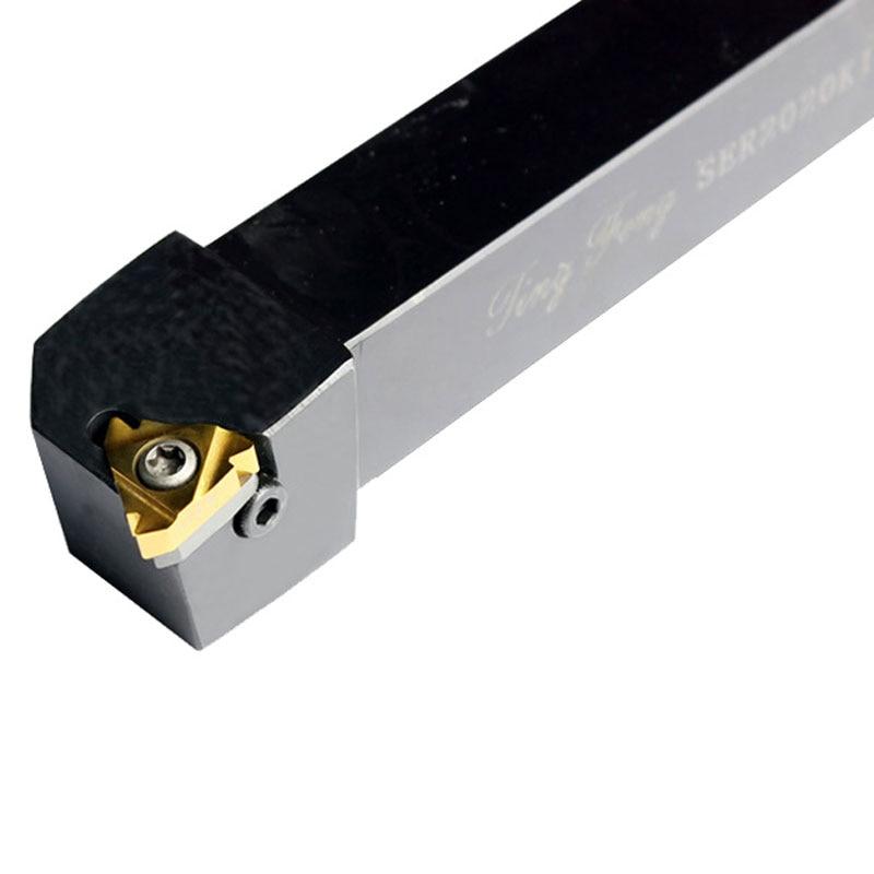 SER2020K22 Thread Turning Tool Holder Draaien Gereedschaphouder Threading Turning Portautensili Carbide Inserts  цены