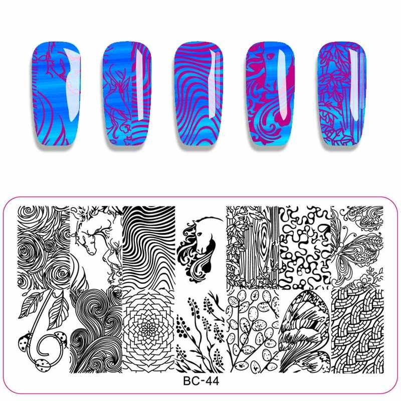 Detail Feedback Questions about 1PC Halloween Nail Stamping
