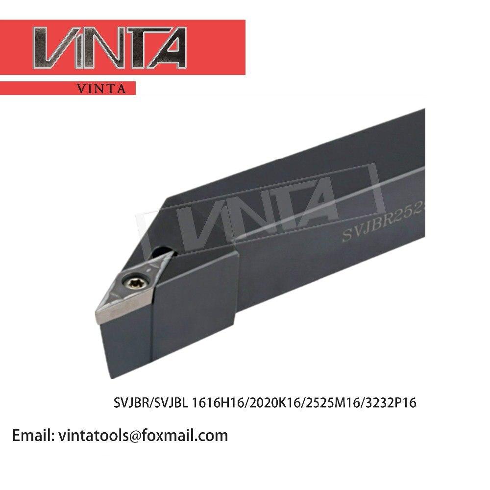 SVJCR 2020K16 93 degree external turning tool holder and lathe tool holder