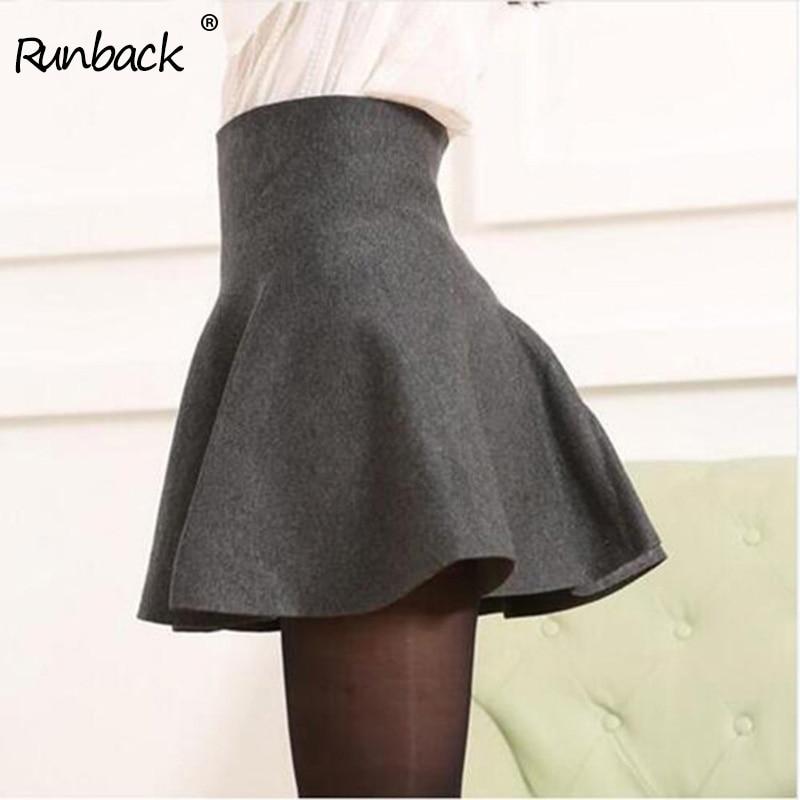 5e05d9e03 Runback de Sexy Mini falda la falda de la primavera de 2019 de verano de  algodón de Streetwear a ...