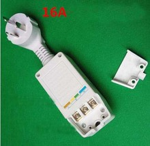 16A 220V electric water heater parts anticreep plug avoid power leakage