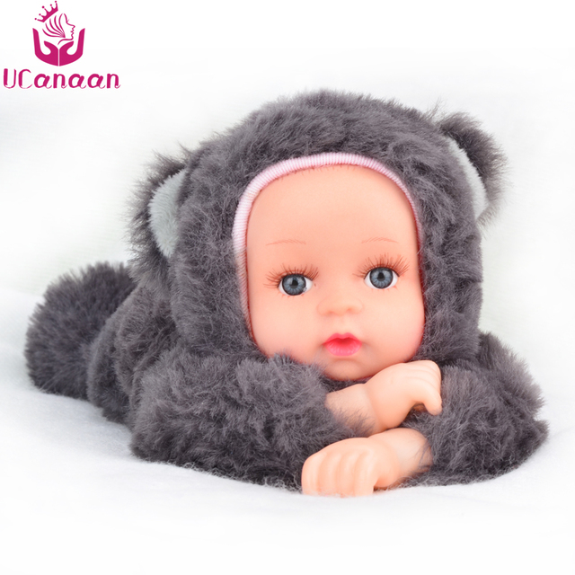 UCanaan Plush Stuffed Toys for Children Kawaii Soft 6 Colors Rabbit/Bear Best Birthday Gifts for Friends Doll Reborn brinquedos