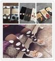 Los bebés de las medias wapiti algodón medias niños niñas medias del pantyhose del resorte del otoño niños 0-4Y