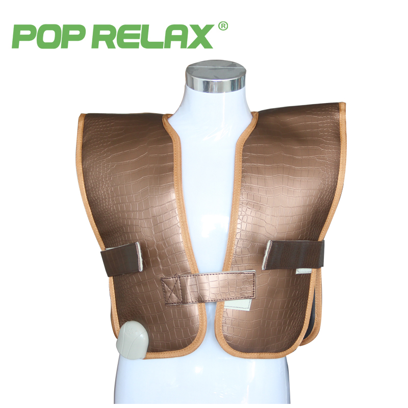 POP RELAX jade roller heating belt back pain relief waistcoat cervical infrared therapy spine care stone thermal mat 220V pop relax negative ion magnetic therapy tourmaline mat pr c06a 55x120cm ce