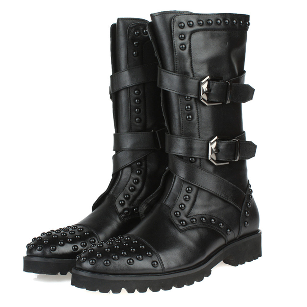 Buckle Boots Men Promotion-Shop for Promotional Buckle Boots Men ...