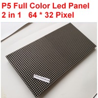 P5 full color led display smd2020 64 * 32 pixel  320mm * 160mm size  1/16 scan high clear indoor  p5 led module free shipping|p5 led module|full color led display|led display -