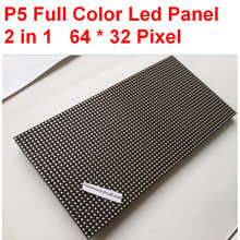 Полноцветный светодиодный дисплей p5 smd202064*32 пикселей размер