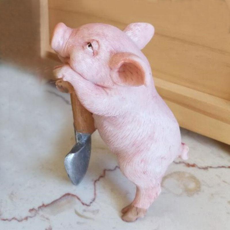 Aliexpress com : Buy CXZYKING Lovely Pig Model Action