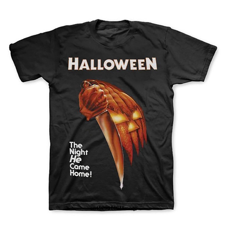 Gildan Funny T Shirts Halloween Michael Myers Movie Poster