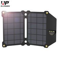 ALLPOWERS 14W Mobile Phone Chargers Solar Panel Solar Charger Dual USB Batteries Charger For IPhone 4