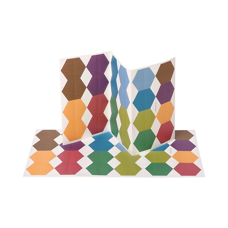 Купить с кэшбэком 240pcs/lot Creative colorful paper index stickers classification memo tag diary sticker label index sticker binder index divider