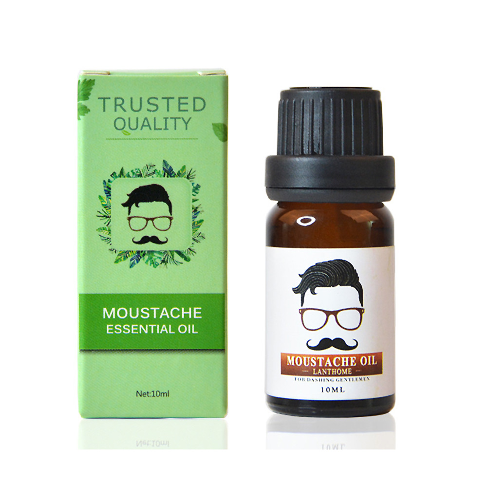 Men Beard Growth Oil 10ml Moustache Liquid Eyelash Increase Liquid Eyebrow Hair Care Essential Oil Improves Hair Dryne