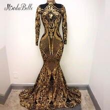 Modabelle/вечернее платье с высоким воротом и золотыми пайетками