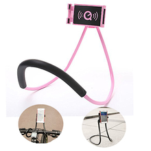 Cell Phone Holder Tablet PC Holder Flexible Lazy Bracket, DIY Free Rotating Mounts with Multiple Function