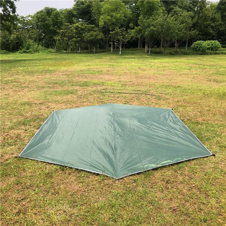 Beach Tent Tarp Rain Sun Shade Hammock Shelter Waterproof Camping Picnic Pad Mat