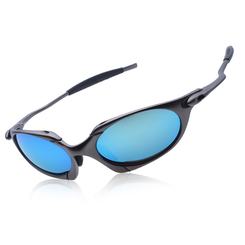 WUKUN Sunglasses Men Polarized Cycling Glasses Alloy Frame Sport Riding Eyewear oculos de ciclismo gafas CP002-4