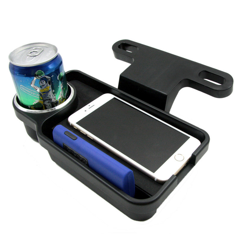 Shipping A Car >> 1pc Car Back Seat Storage Box black Drink Food Cup Table Holder Folding Auto Tray Holder Stand ...