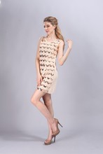 Sequin Teardrop Gatsby Charleston Dress
