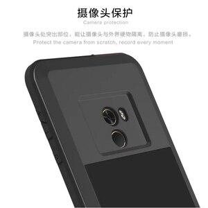 Image 2 - Coque de téléphone Love Mei pour xiaomi mi X housse étanche antichoc pour xiaomi mi x Gorilla Glass xio mi x étui