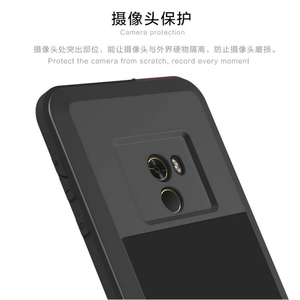 Image 2 - Love Mei Phone Case on for xiaomi Mi MIX waterproof shockproof dirtproof Cover for xiaomi Mix Gorilla Glass xiomi mix case