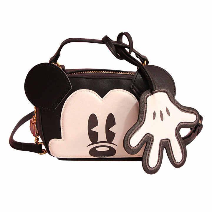 Hot Cute Mickey mouse juguete mochila Kawaii animales bolsa bolsos Bagpack monedero para niñas niños mujeres regalos de cumpleaños